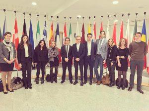Voyage d'étude à Bruxelles